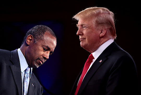 Donald Trump Claimed Ben Carson as Dependent on 2018 Tax Returns