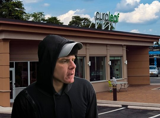 Disguised Mayor Walsh Spotted Entering Local Pot Shop