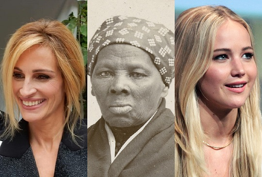 White Movie Fans Outraged Julia Roberts Considered for Role of Harriet Tubman, Not Jennifer Lawrence