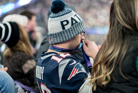 Man's Entire Sense of Self-Worth Riding on Outcome of Patriots Game