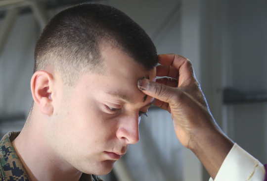 Man Giving up All Hopes and Dreams for Lent