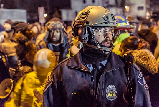 Minneapolis Police Restoring Community Trust By Firing Rubber Apologies, Hurling Canisters Full of Remorse at Protestors